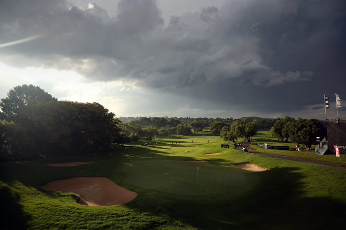 Round three of the #SAOpen is underway after a 20-minute delay. Photo
