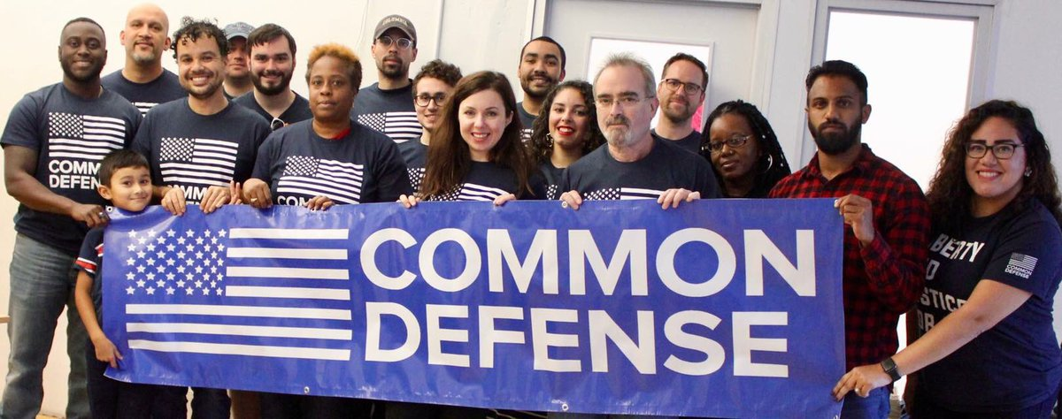 Common Defense is a national movement of progressive military veterans organizing to protect our values at home. Now @commondefense vets are teaming w/ NY-14 vols to go to the border & provide relief for refugee children. They need help! Check it out ⬇️ secure.actblue.com/donate/vets-to…