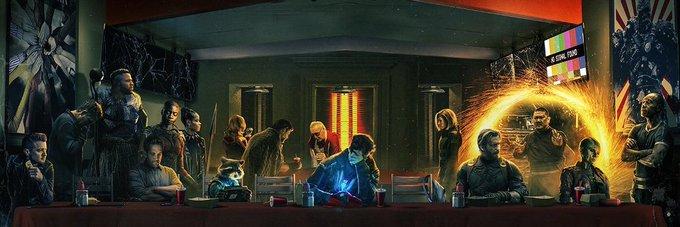 💣💥 #AvengersEndgame Yıkıklar kulübüne hoş geldiniz adlı afiş. 🤕☠😭 @Russo_Brothers @MarvelStudios Фото