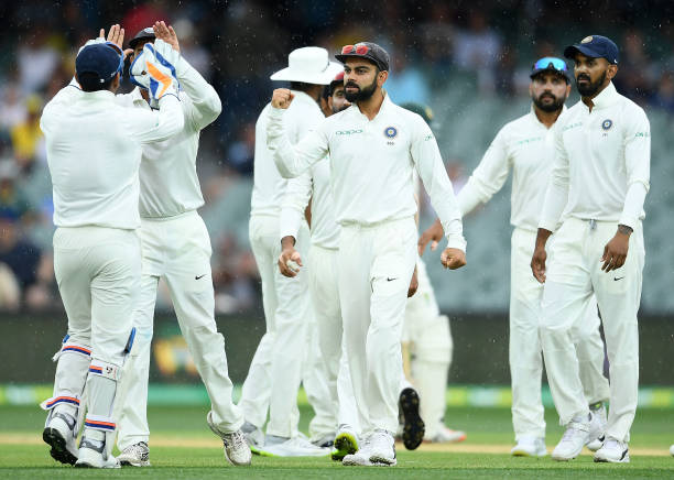 Australia vs India 1st Test Day 3 | Innings break Australia 235 () Nathan Lyon - 24(28) Australia trial by 15 runs #AUSvIND Photo