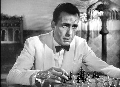 Humphrey Bogart in Casablanca. #SeduceMeIn4Words