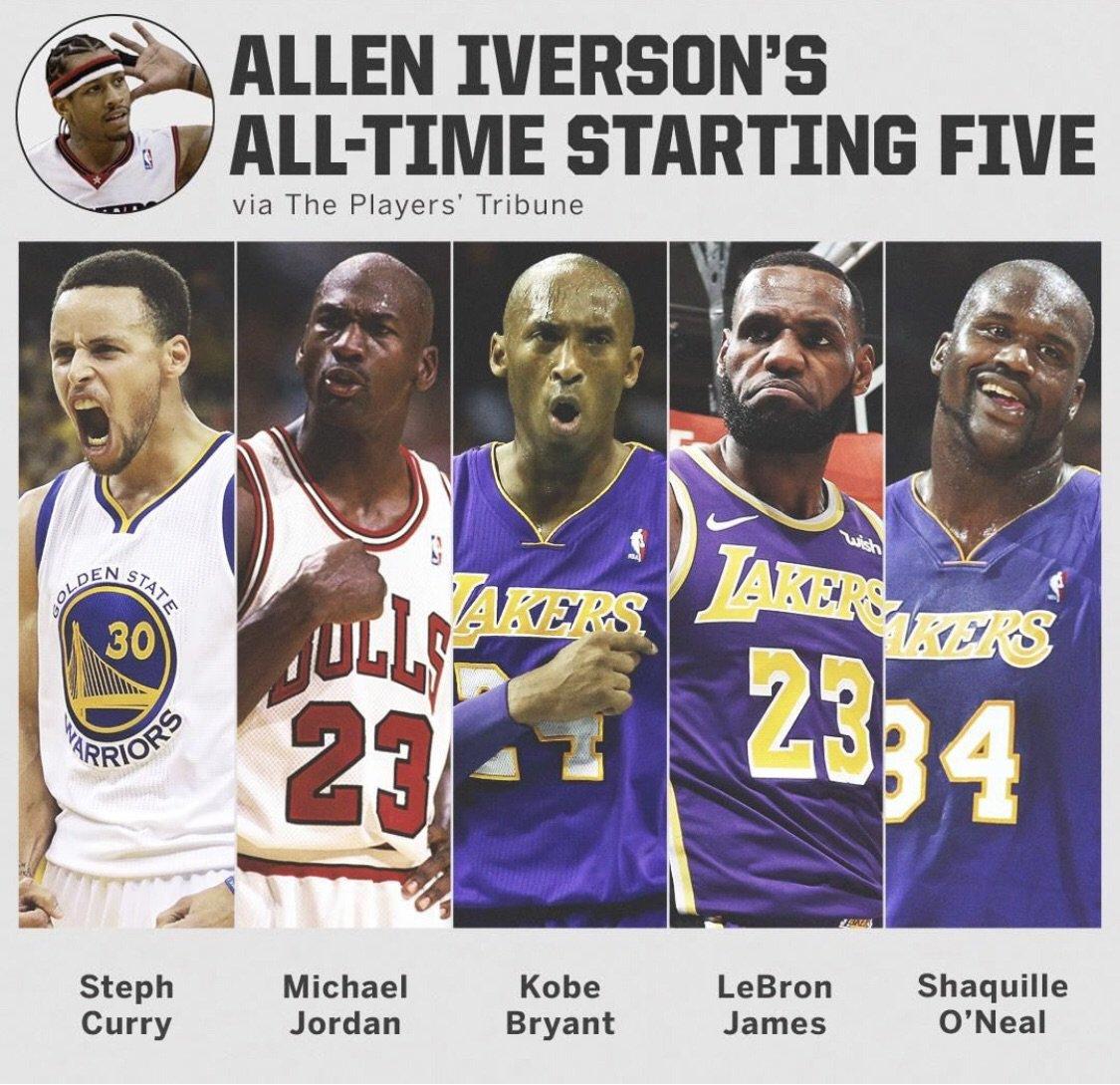 Allen Iverson on Twitter