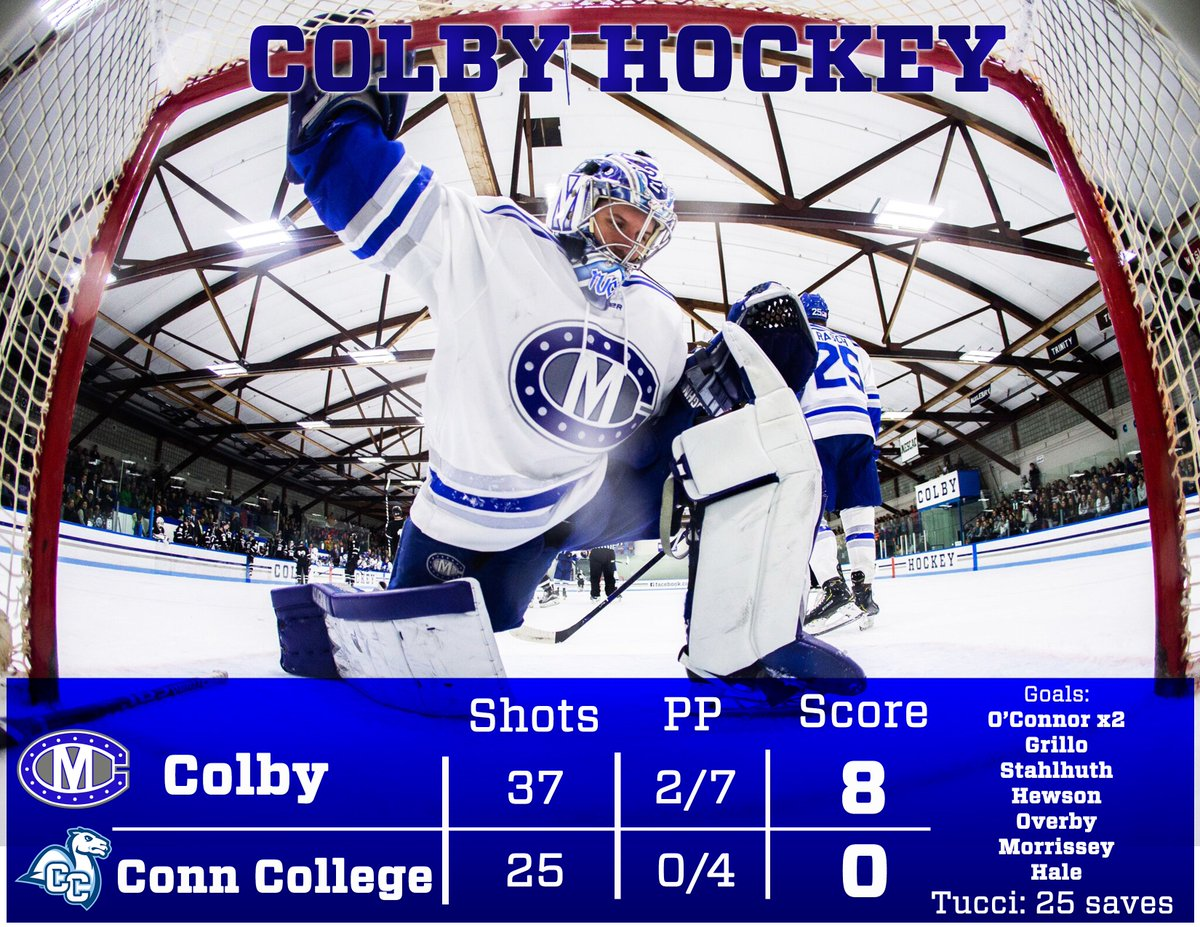 Colby Hockey on Twitter: