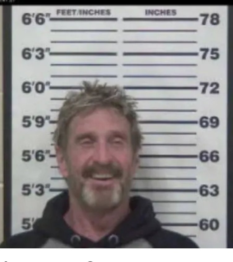 officialmcafee photo