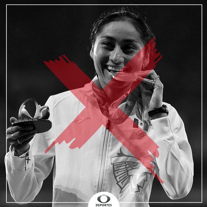 La mexicana Lupita González dio positivo a un anabólico 😱 Aún no se confirma en qué competición fue, pero por el momento se expone a una sanción de 4 años. ¡Se perdería Tokio 2020! 😔 Foto