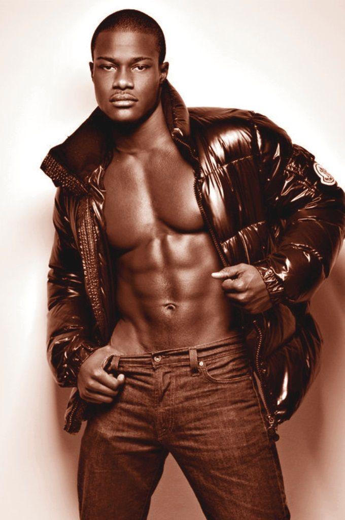 Black male sexy photo