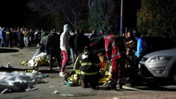 Шесть человек погибли из-за давки на рэп-концерте в Италии Фото