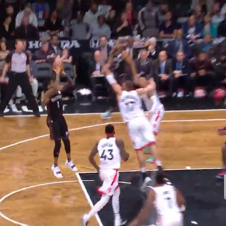 D'Angelo Russell (29 PTS, 5 AST) leads the way down the stretch and the @BrooklynNets outlast TOR in OT! #WeGoHard https://t.co/a0p3KTzTrC