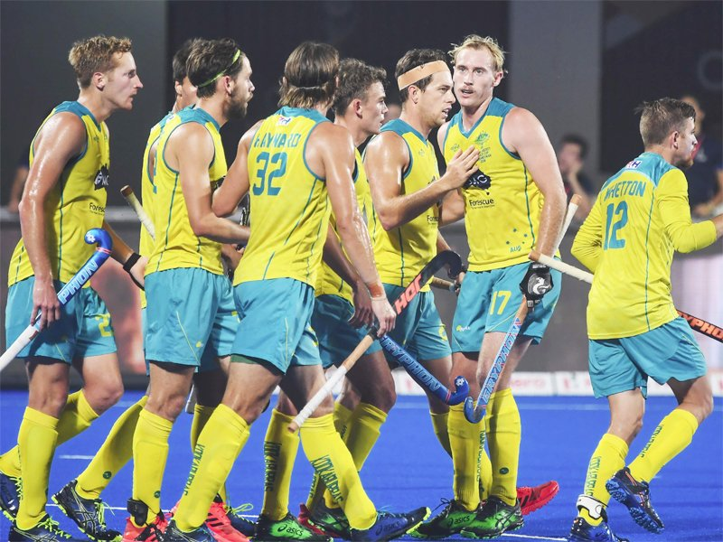 #HockeyWorldCup2018 #HWC2018 #Odisha2018   Australia break Pakistan's record🏑  READ➡️https://t.co/b8IPMNsTwD