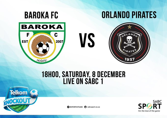We will be previewing the #TKO2018FINAL and discussing breaking news in Football today on #SABCsoccer411! Tune in @ 14:00 @Official_SABC1. Photo