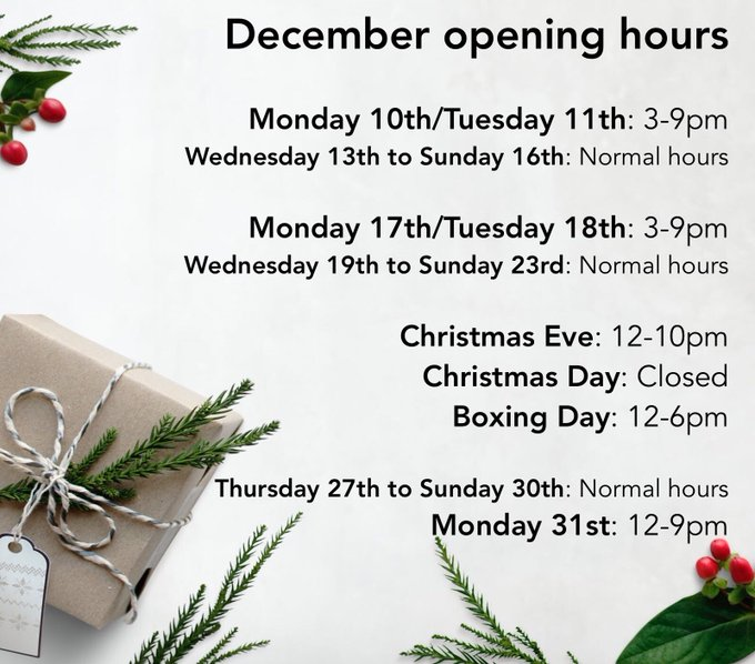 🎄We are now open EVERYDAY until Christmas! That's plenty of time to get that Christmas shopping done. We've got lots of gift options to choose from: over 230 beers and ciders, plus glassware and gift vouchers 🎁 Photo