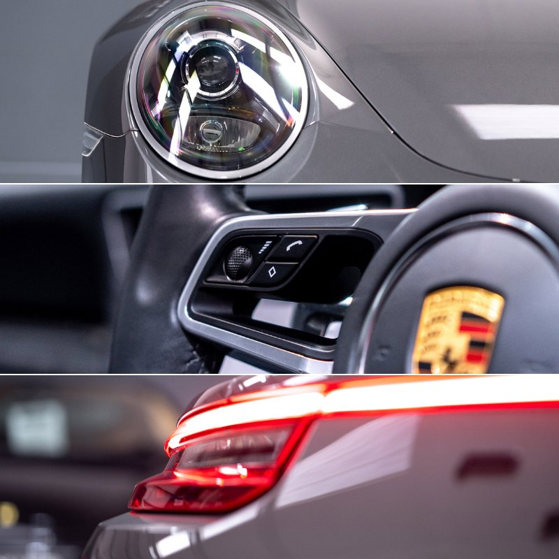 Its all in the detail. Specified beautifully, our #Porsche 911 #Targa 4 #GTS is the very essence of the breed. Covering only 6,900 miles, it has seen only one former keeper and comes with an absolutely outstanding specification. Discover more here, bit.ly/2Do4w6T