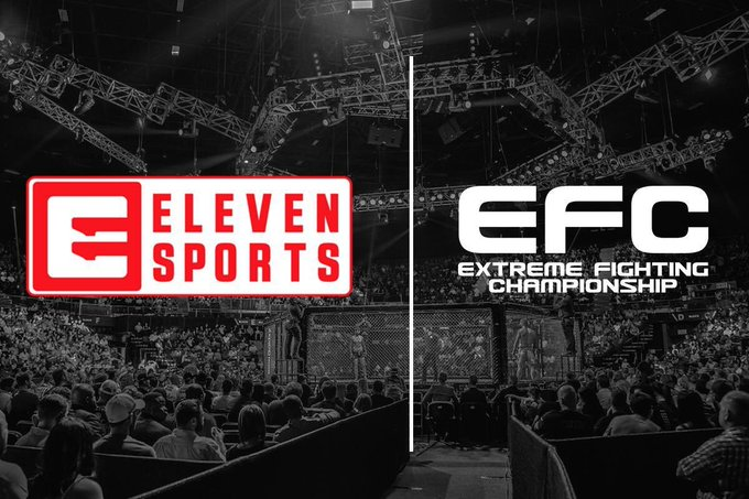 Hey Polish fans! #EFC76 is gonna be live on @ELEVENSPORTSPL from 19:30 CET! Watch Karolina Wójcik challenge Italy's Chiara Penco for the strawweight title and my brother's Niel fight which when he gets an explosive victory over Roger Griffin will be repeated at the end! 👌 Photo