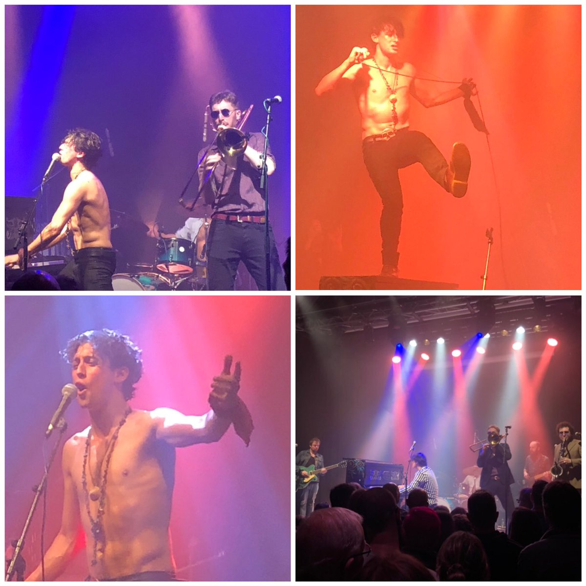 Last night we were lucky enough to see @tankusthehenge perform at @ChapelArtCentre - Awesome gig. If you get the chance to see them, do it!  They are genuinely brilliant. Congrats on a fantastic night guys. Come back to #somerset soon  <br>http://pic.twitter.com/1LIB0dbGiV
