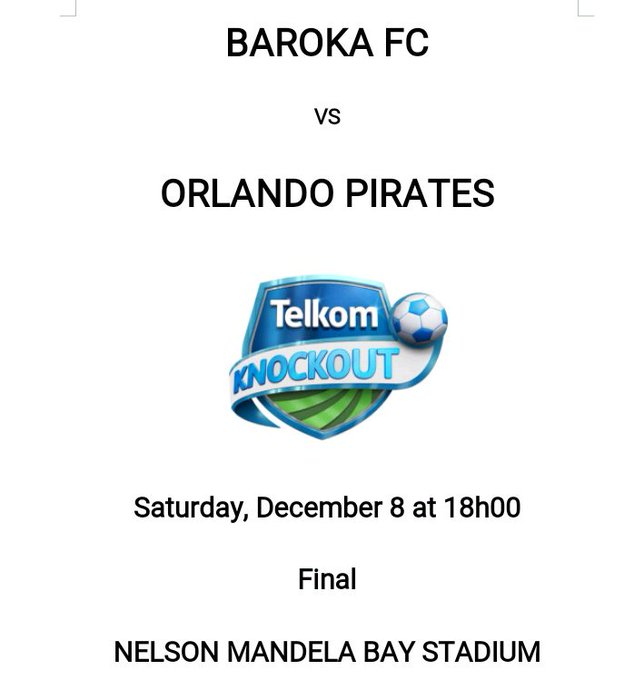 All I know is >>> History will be made at Nelson Mandela Bay Stadium. #TKO2018Final Photo