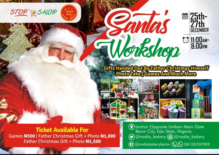 Christmas Giveaways For Kids.Nadia Bakery On Twitter Its Christmas Again