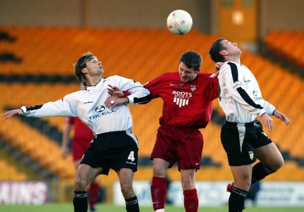#NotonthisDay - Scarborough FC beat @OfficialPVFC on 7th December 2003 in #TheFACup 1-0 with a strike from Ashley Sestanovich, robbed the host with a sensational strike for the Seadogs.  #SAFCLIVE #EmiratesFACup