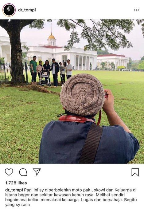 Enaknya bisa potret #JokowiKeluargaHarmonis Mari merapat biar semua masuk Photo