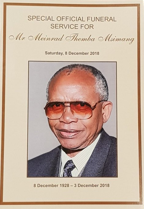 In 1999, President Mandela awarded Uncle #MendiMsimang the Order of Meritorious Service, in silver. From 2006, he served as a member of the Advisory Council on National Orders, along with other stalwarts of his generation. Photo