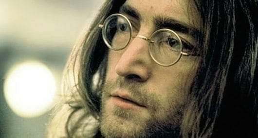 """Remembering John Lennon today.  """"I read the news today oh boy! About a lucky man who made the grade""""..  #JOHNLENNON"""
