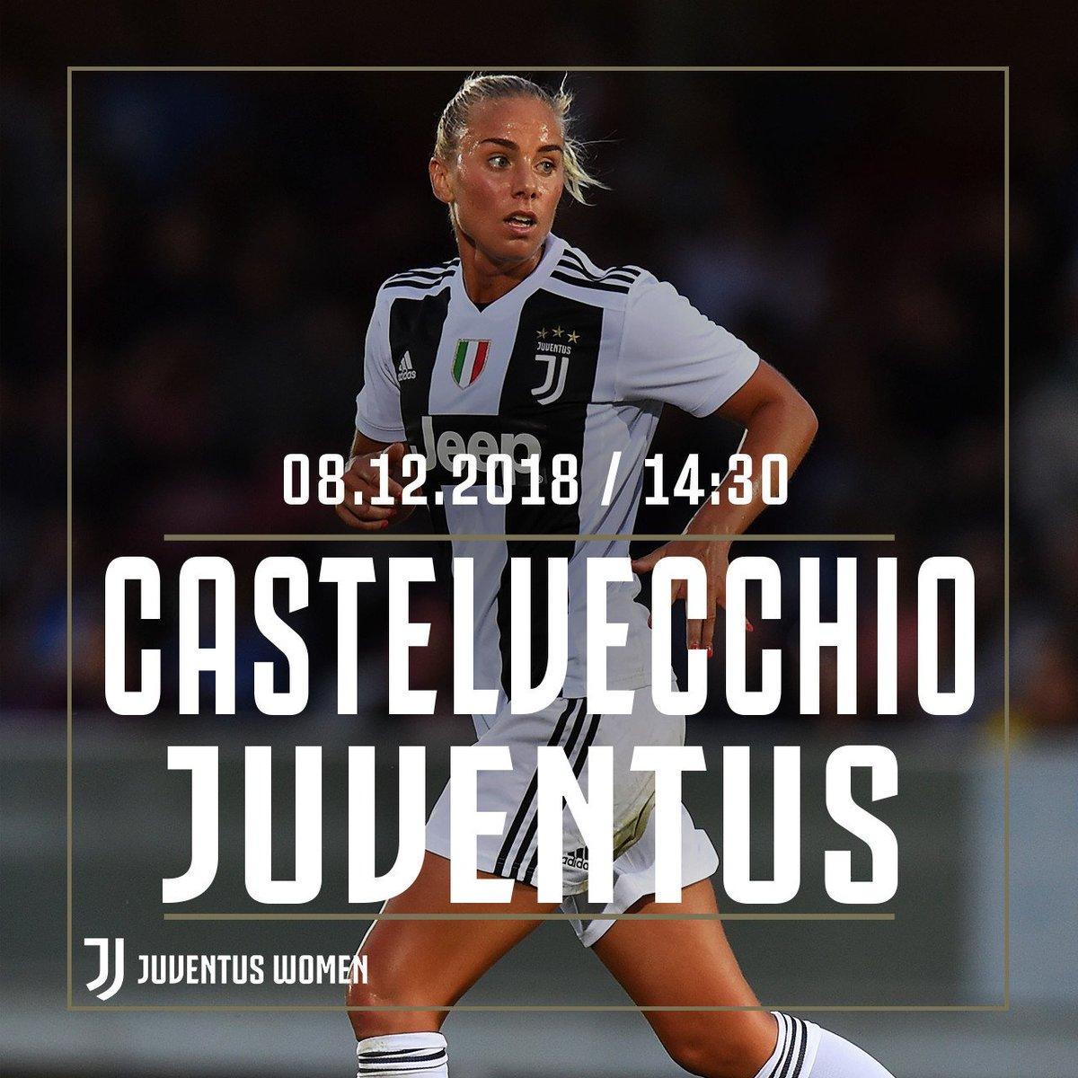 🙌 #JUVENTUSWOMEN MATCHDAY! 🙌 🇮🇹🏆 Coppa Italia 🆚 Castelvecchio 🏟 Stadio Comunale Capanni ⏰ 14:30 CET 📲 #CastelvecchioJuve ⚪️ #FinoAllaFine #ForzaJuve ⚫️