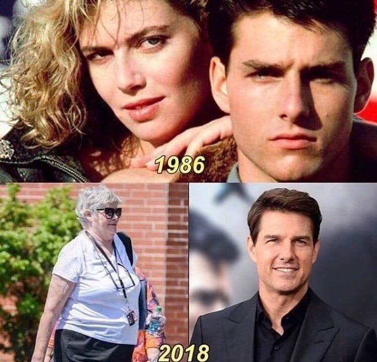 Tom Cruise ve filmlerde rol aldığı arkadaşlarının değişimi
