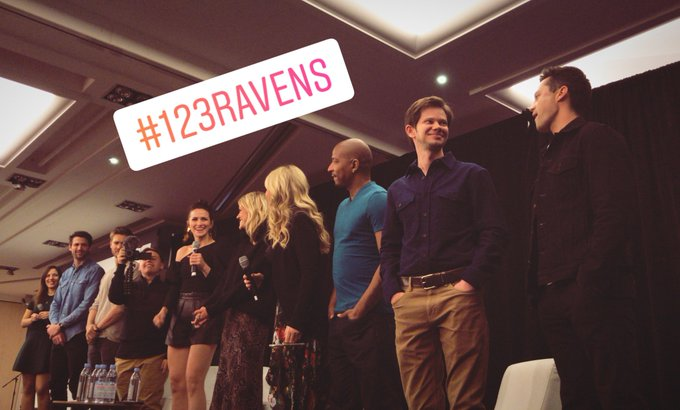 #123Ravens 🏀 — La cérémonie d'ouverte commence !! // Opening ceremony is starting now!! Photo