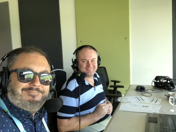 My prediction skills remain strong! South Australia made 380 and in commentary I said they were *well* on top. At stumps, NSW are ... 0/223. #SheffieldShield #NSWvSA Photo