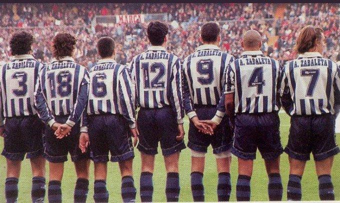 Hace 20 años Aitor Zabaleta era asesinado en los alrededores del estadio Vicente Calderón. Un neonazi le apuñaló el corazón. Ni un respiro al fascismo, ni en los estadios ni en los barrios. Gogoan zaitugu. Foto