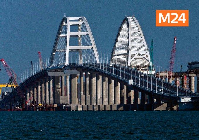В ФСБ назвали Крымский мост главной целью провокаций Украины. Подробнее: Фото: ТАСС/Сергей Мальгавко Фото