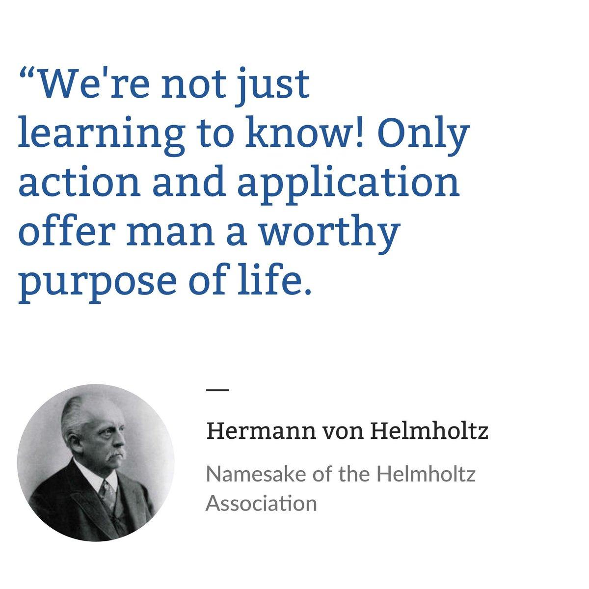 Helmholtzassociation Helmholtz En Twitter