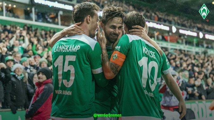Genießt euren Samstag, liebe Werderaner! 💚 Nochmal alle Aussagen zum gestrigen Spiel 👉 #werder | #svwf95 Foto