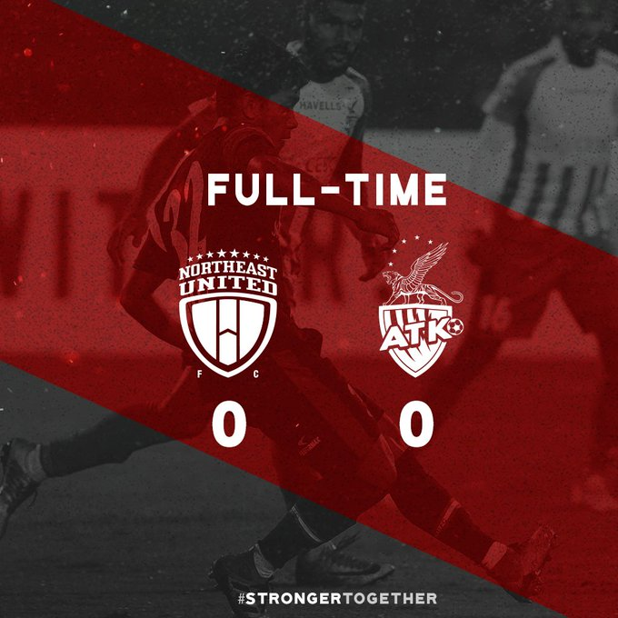 FULL TIME A good performance today against a resolute ATK defense, dominating possession and controlling the game in the midfield. Unfortunately we could not create a goal, and we continue consolidating our place in the top 4. #NEUKOL Photo