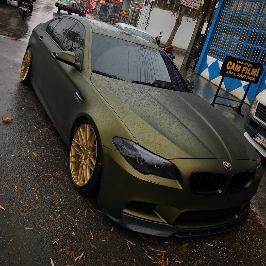 Shine Graffix On Twitter Golden Black Bmw M5 Euro Wrap Jdm Wheels Stance Fitment Lowlife Hellalow Https T Co Pb1ngmgog5