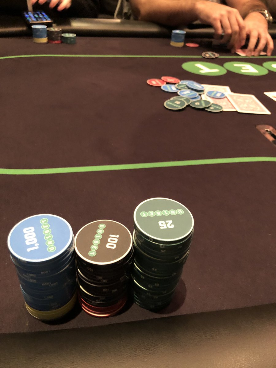 Playing the Unibet Open in Manchester 235. Antes from hand 1, chopped up a bit so far