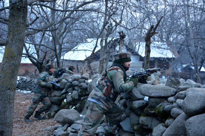 #SRINAGAR: Security forces have eliminated over 230 terrorists in Jammu and Kashmir this year so far, while there has been a dip in injuries caused due to stone pelting, officials said on Saturday. Read more at: Photo