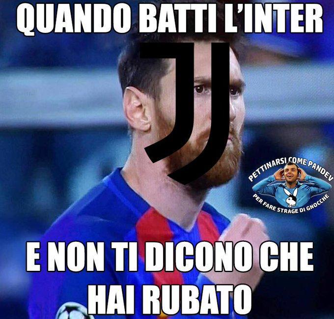 Non ci sono più le mezze stagioni #JuveInter #JuventusInter Foto