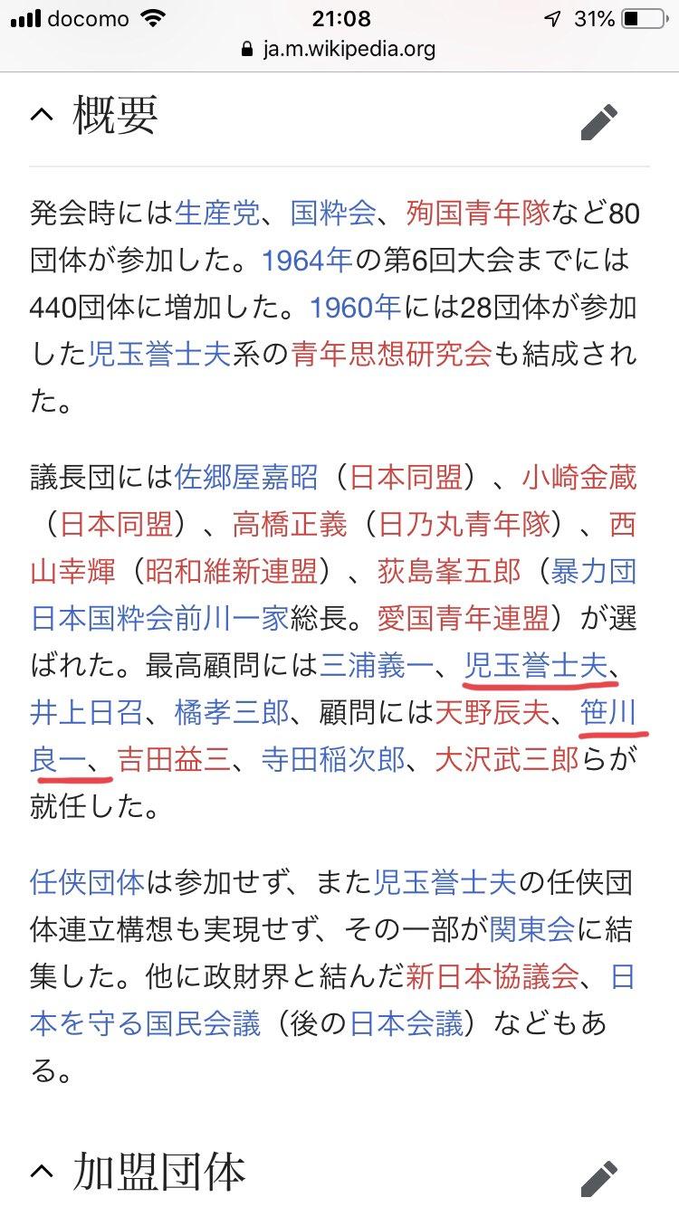 団体 wikipedia 任侠