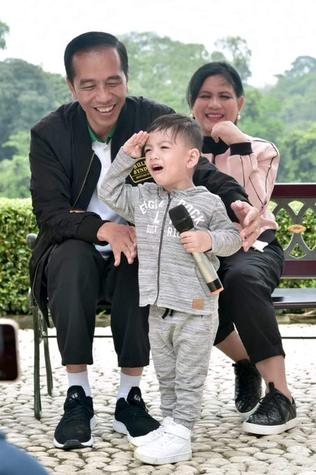 😀😘 #JokowiKeluargaHarmonis Photo