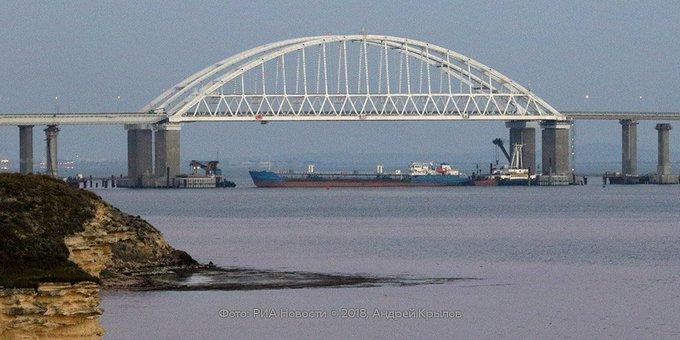 ФСБ назвала Крымский мост целью украинской провокации Фото