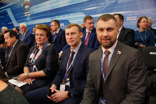 А вчера был на #ЕРсъезд, - работали на платформеОткрытость и приняли участие в совещании с Региональным общественными приемными #смоленск Фото