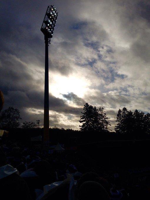 #D98FCI Und die Sonne schaut auch noch vorbei. Gutes Omen?! Foto
