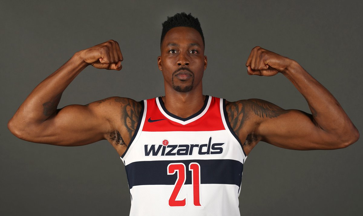 Join us in wishing @DwightHoward of the @WashWizards a HAPPY 33rd BIRTHDAY!   #NBABDAY #DCFamily