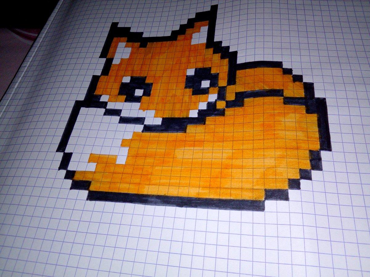 Dessin Pixel Art Trop Mignon