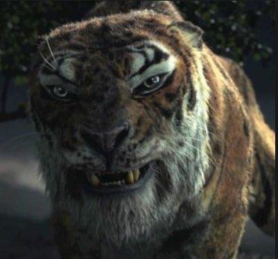 พอรู้ว่าพี่ Benedict Cumberbatch พากย์เป็นเชียร์ข่านแล้วเห็นใจเสือขึ้นมาประมาณ 30% เกลียดไม่ลง แง #NetflixMowgli ภาพถ่าย
