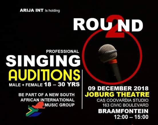 [SHARE] Internationally singing sensations wanted. Auditions will be held at Joburg Theatre tomorrow.  Click here for more info: https://t.co/R7rpVMFmRP https://t.co/1WhlSeymsz