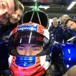 Last day with my @ToroRosso guys tomorrow! Enjoyed since day 1!  Thanks for all the great adventures together, let's enjoy one last tomorrow for the Honda Thanks Days. 🇯🇵