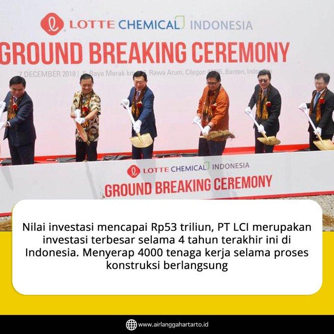 Perlu diketahui industri petrokimia sama pentingnya seperti industri baja, sebagai mother of industry. #bersamamuIndonesiamaju Photo