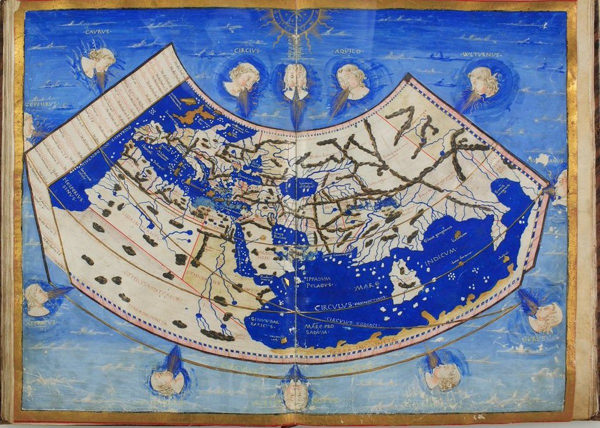 Latin translation of «Cosmographia» (#Cosmography - By #Ptolemy) https://t.co/a7mWYhSDbF [#Geocentrism #Geocentric #GeocentricModel #PtolemaicSystem #Maps #FlatEarth] https://t.co/fhgaYRD5w8 https://t.co/4jgzdZ6sX3