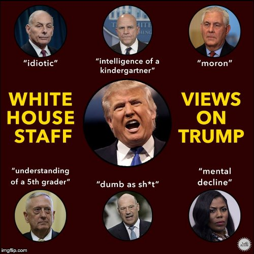 Even the prople who work for him know that #WhenTrumpOpensHisMouth he will say something stupid. #SaturdayMorning #TheResistance #MAGA #Trump #Resist #ImpeachTrump